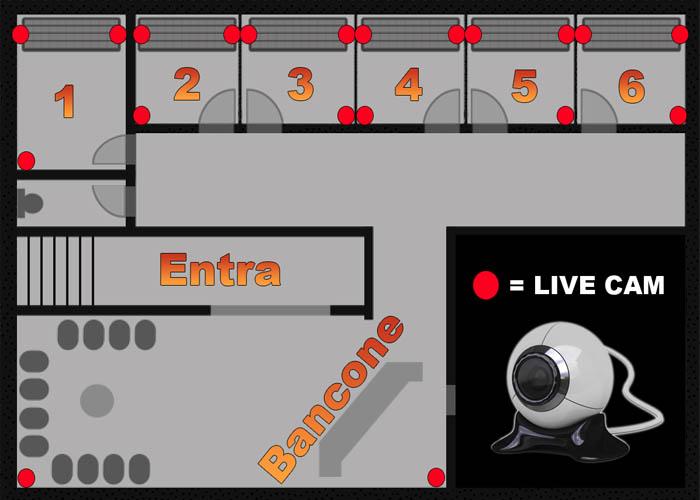 Solariumcam.com - Lo Studio e dotato di 6 Cabine con